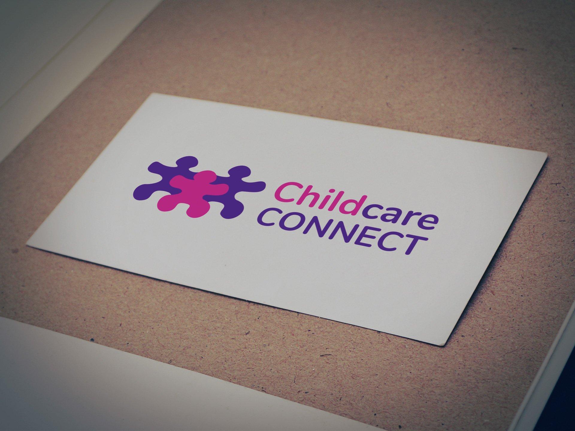 Childcare Connect Logo - Designed by Casper Creative