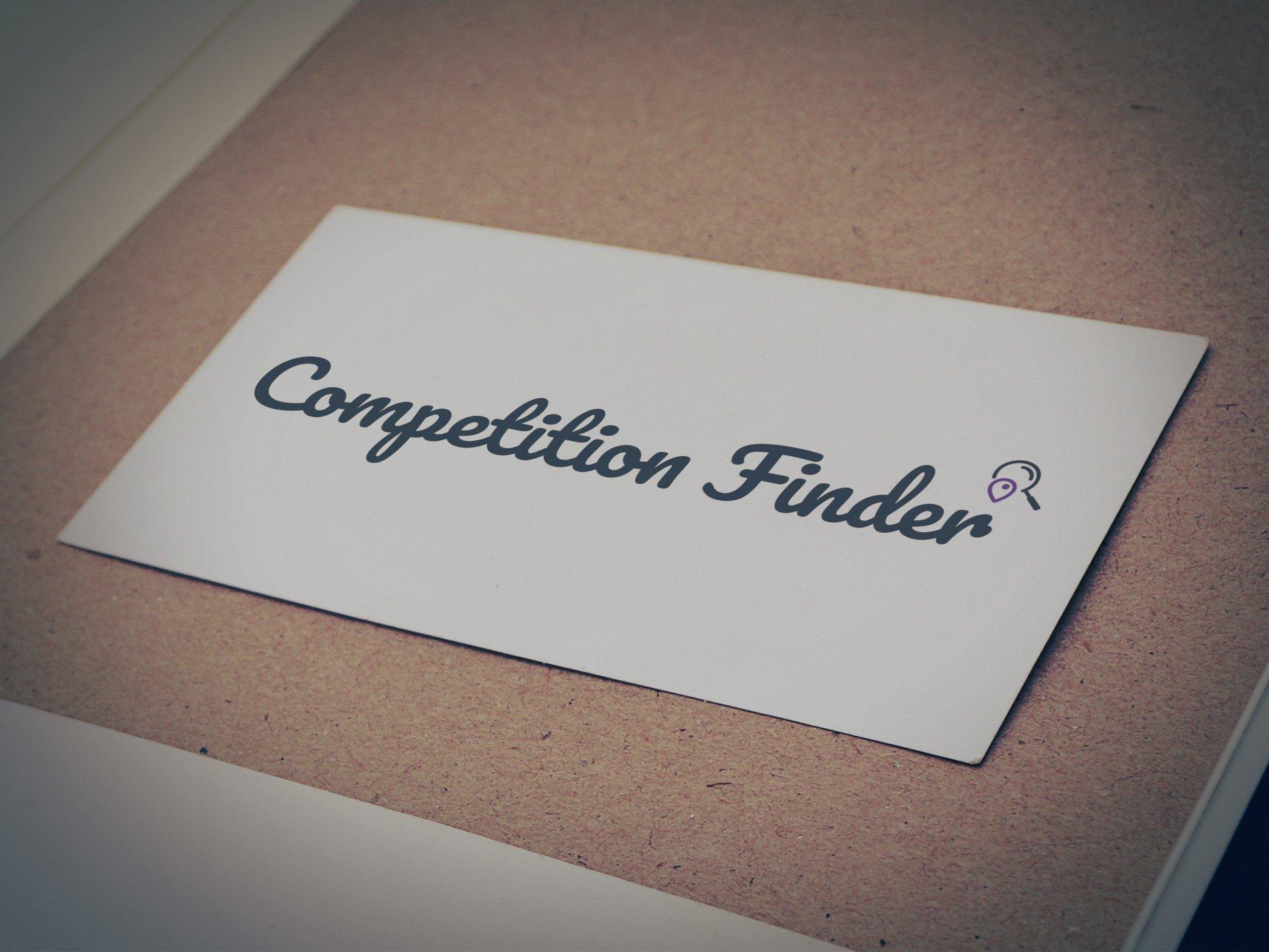 Competition Finder Logo by Casper Creative