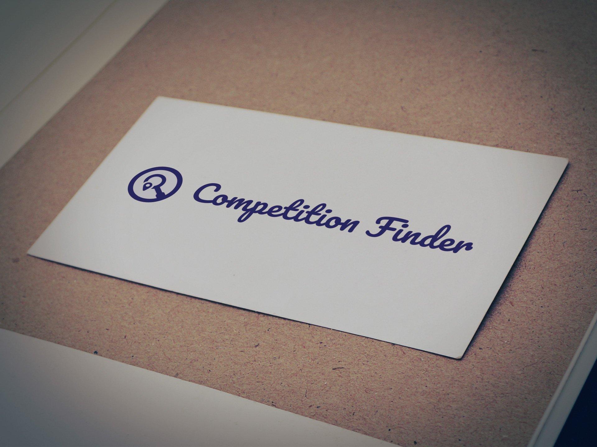 Competition Finder Logo - Designed by Casper Creative