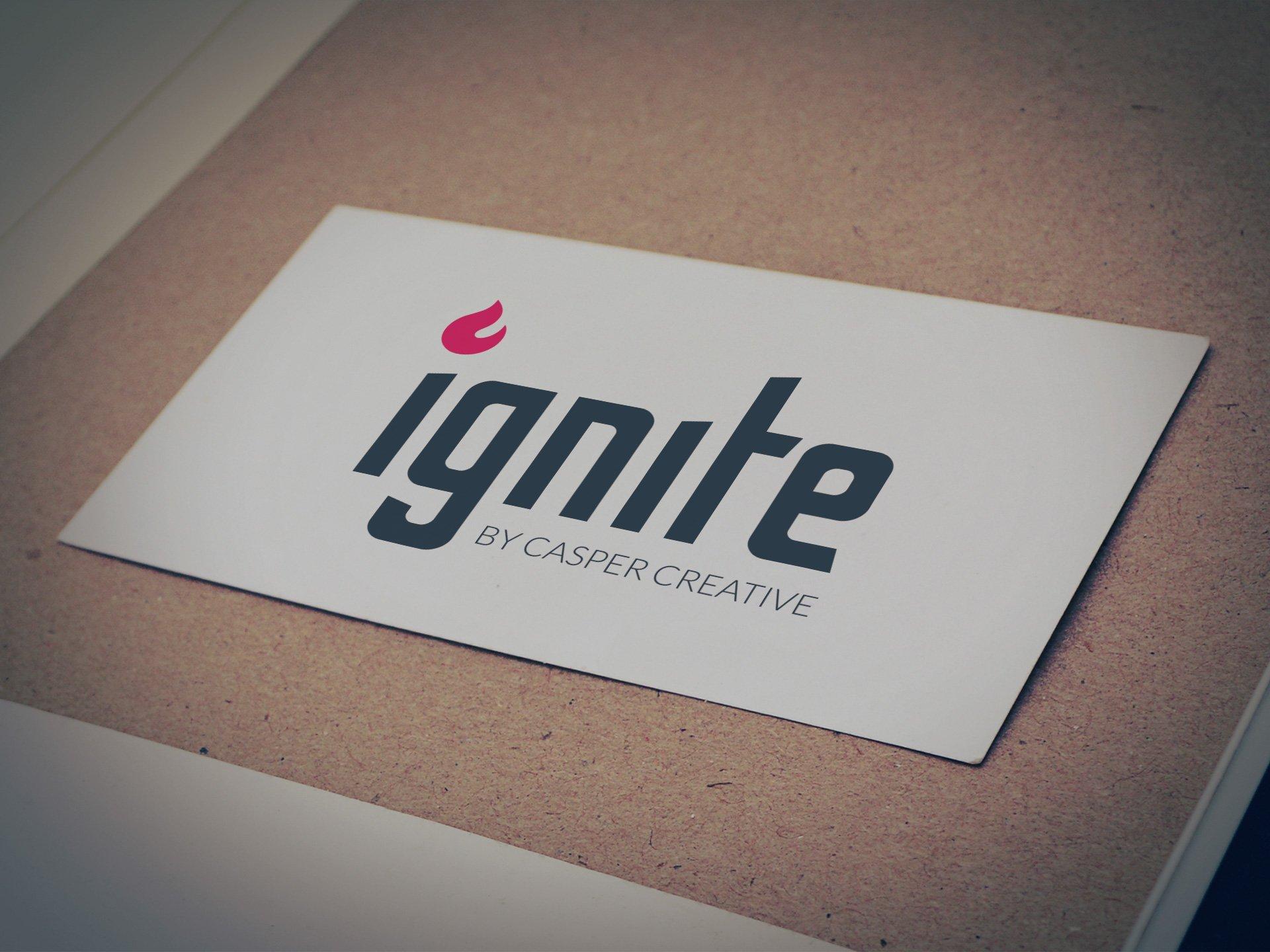 Ignite by Casper Creative Logo - Designed by Casper Creative