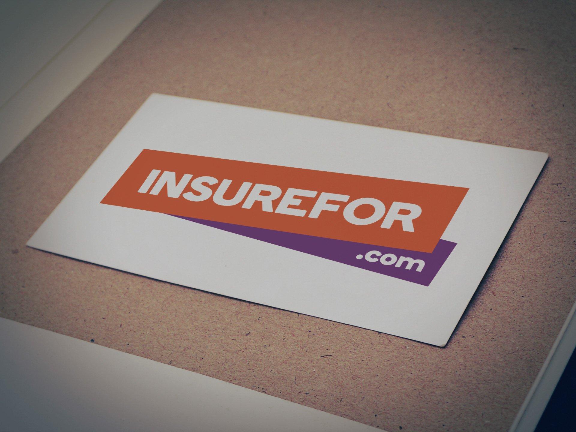Insurefor.com Logo - Designed for ROCK Insurance Group by Casper Creative