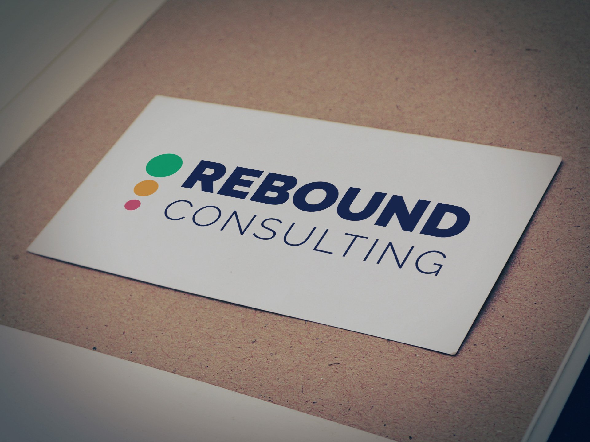Rebound Consulting Logo - Designed by Casper Creative
