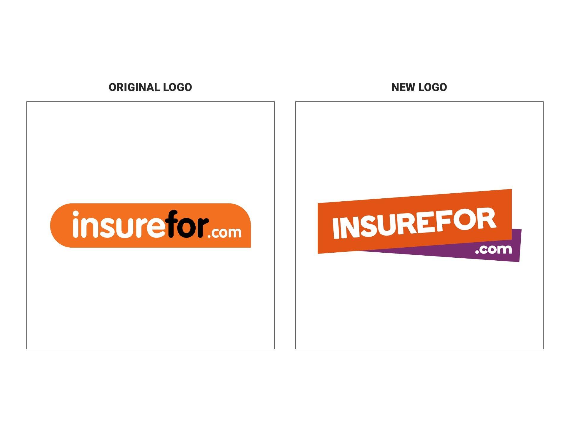 New insurefor.com logo design