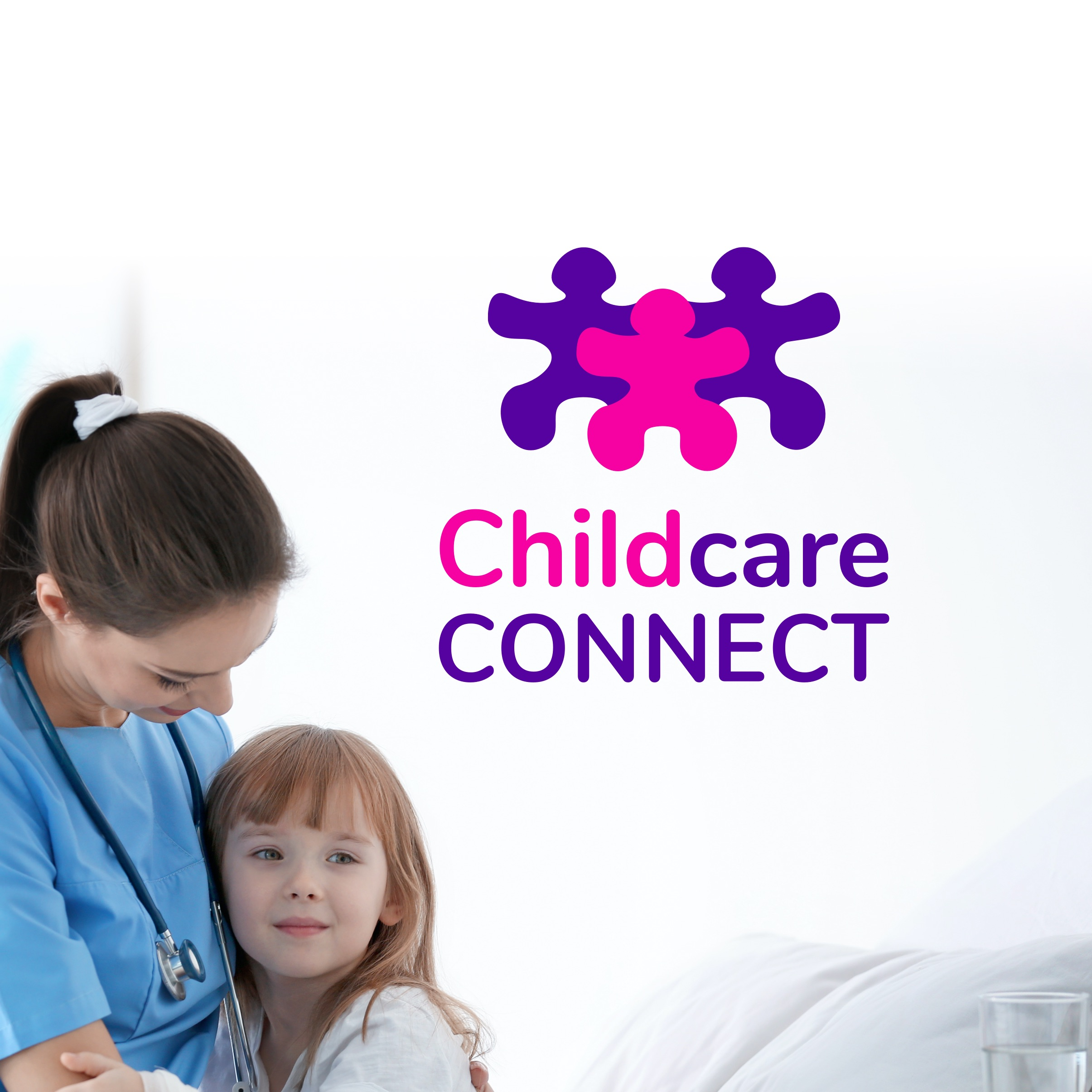 Childcare Connect Logo by Casper Creative
