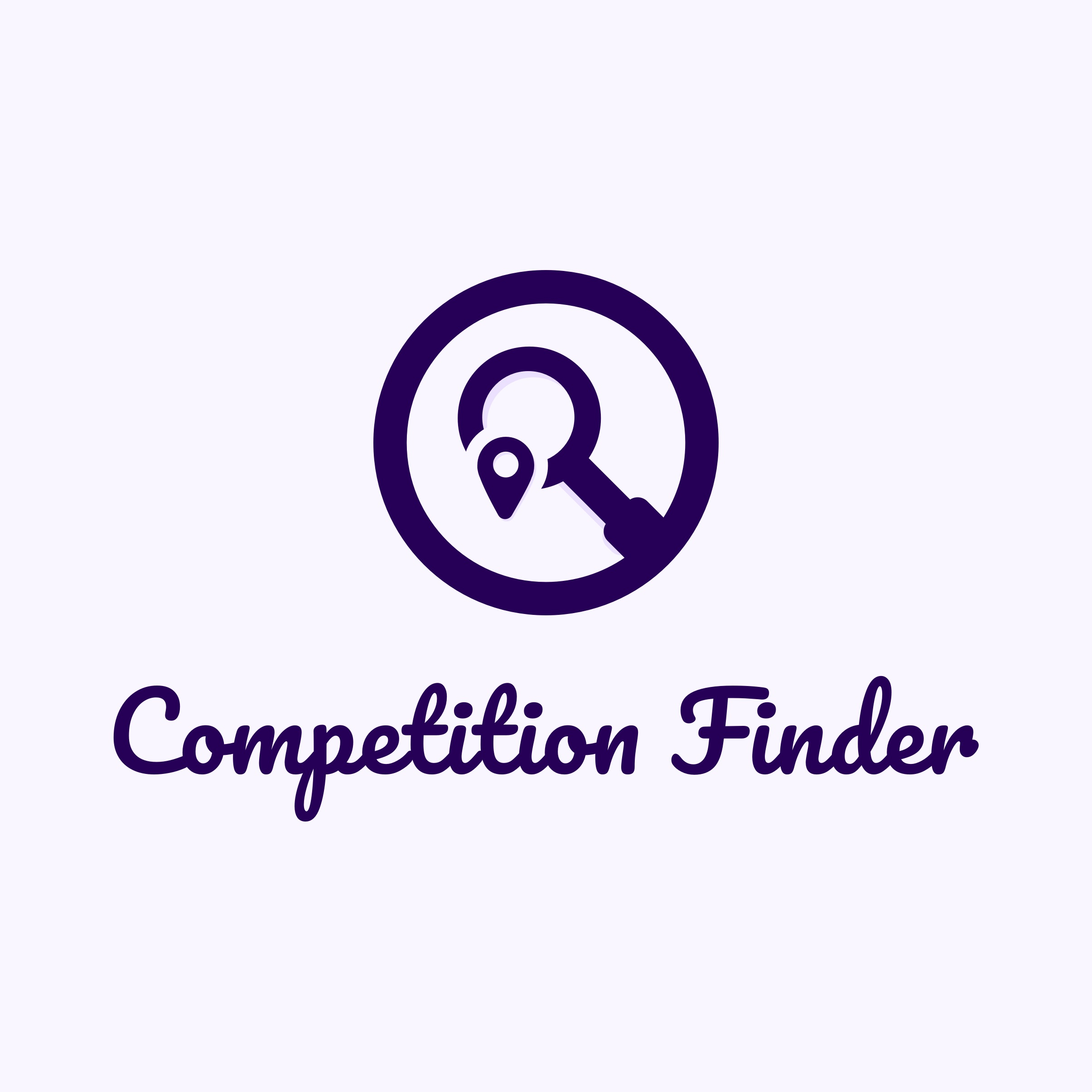 Competition Finder Logo by Casper Creative