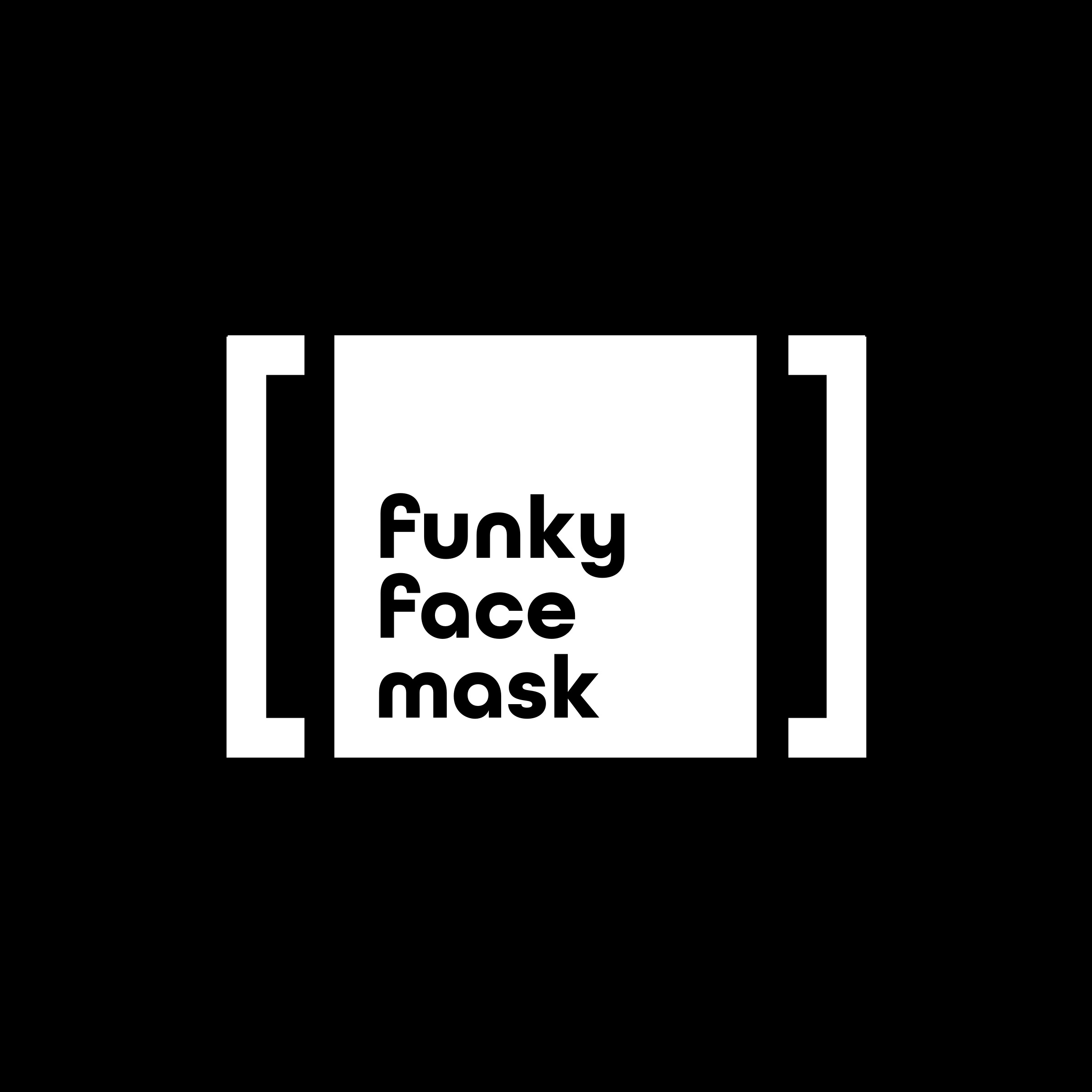 Funky Face Mask Logo by Casper Creative