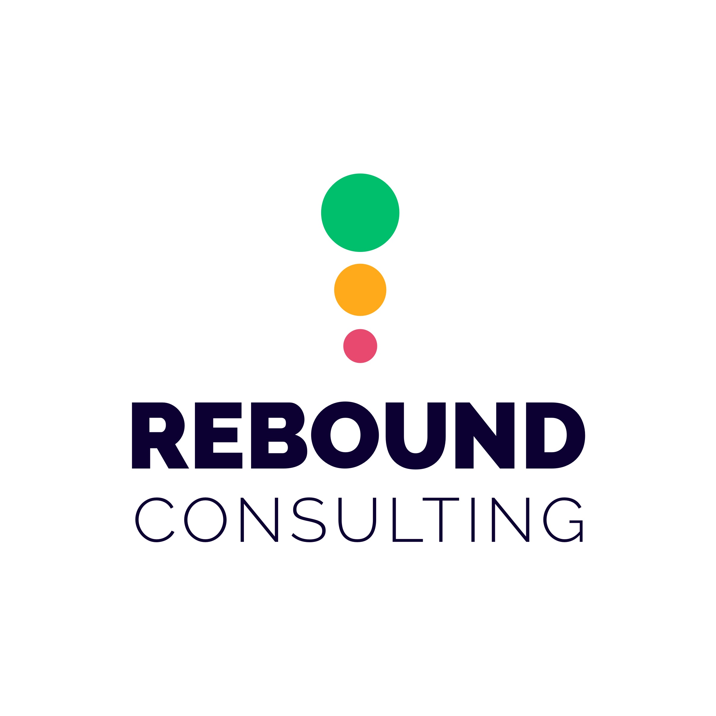 Rebound Consulting Logo by Casper Creative